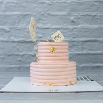 Elegant Mini Pink Cake