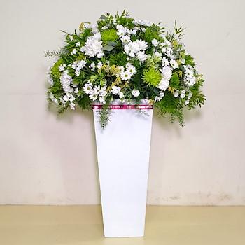 Large Square Vase