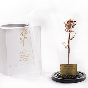 Rose Gold Plated Tulip 2