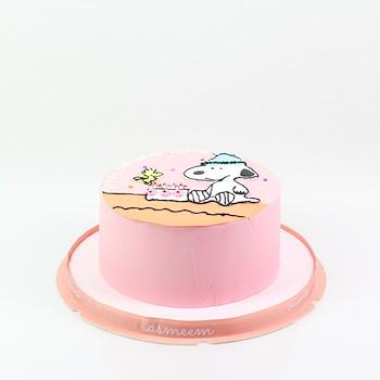 Round Character Cake