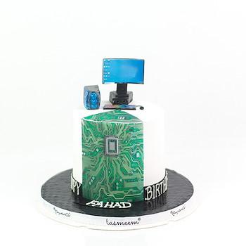 Gamer Birthday Cake l