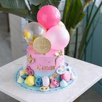 Candy Balloon Cake