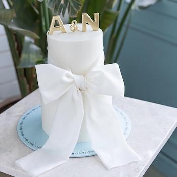 Bridal Bow Cake