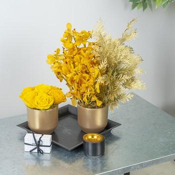 Sweet Yellow Garden