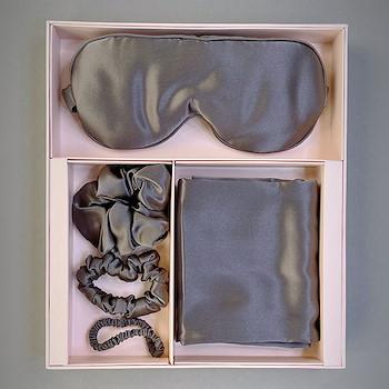 Silk Dark Gray Set
