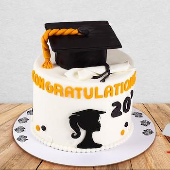 Her Graduation Cake