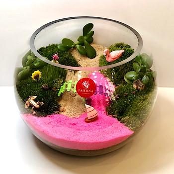 Terrarium Pink 1