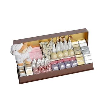Baby Girl Leather Box