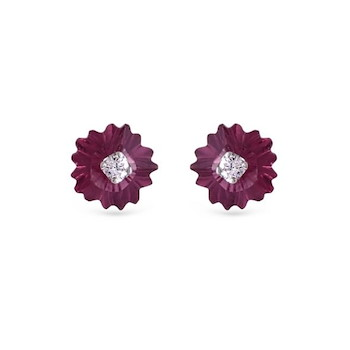 Gem Stone Diamond Earring 20