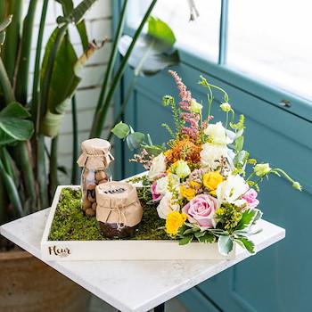 Garden Chocolate Tray