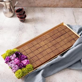 Eid Flowers Tray