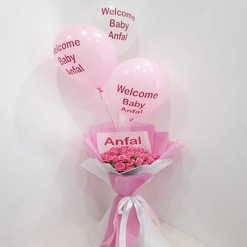 Baby Girl Flowers 2