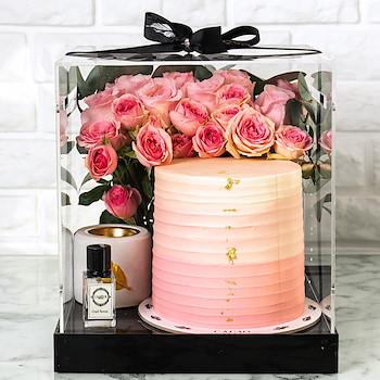 Cake & Mubkhar Pink
