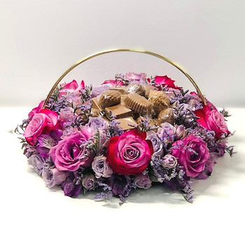 Flowers Tray 4