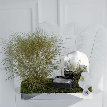 Bliss Feather Tray