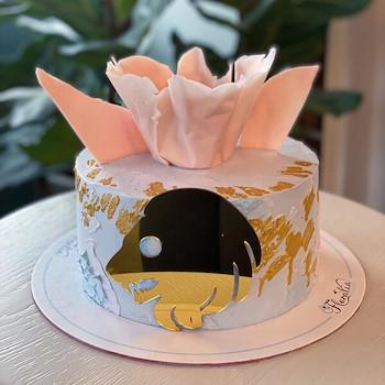Zodiac Leo Cake