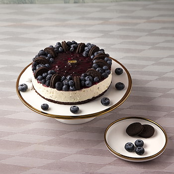 The Blueberry Cheesecake