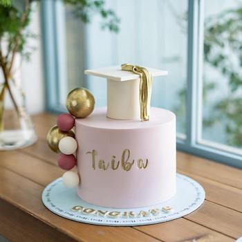 Graduation Bubble Cake