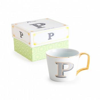 Letter Mug P