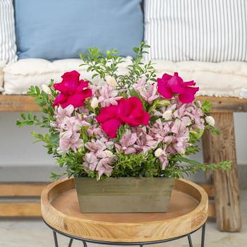 Soft Pink Garden