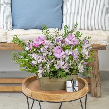 Soft Violet Garden