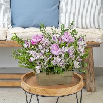 Soft Violet Garden I