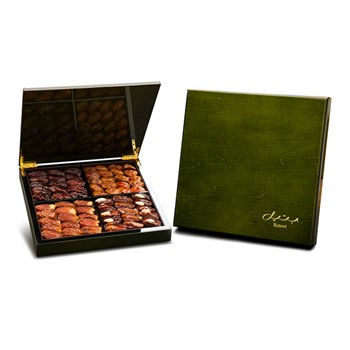 Green Wood Box Large