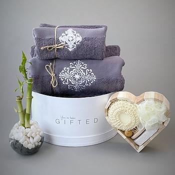 Bathe Basket Grey