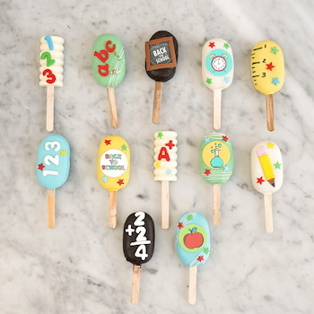 Back To School Cakesickles