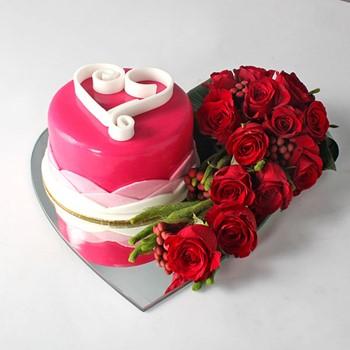 I Love You Cake 7