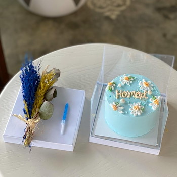 Micro Daisy Cake