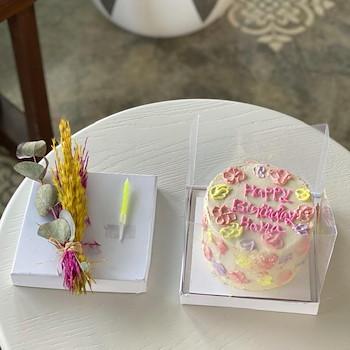 Micro Pinkish Cake