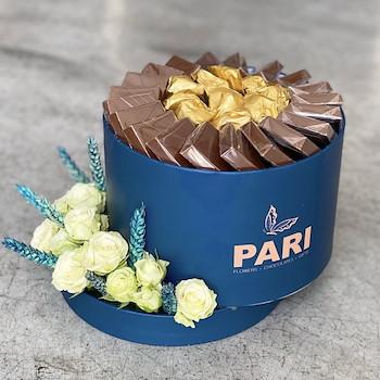 Signature Mini Blue Chocolates