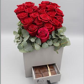 Heart Floral Bouquet 2