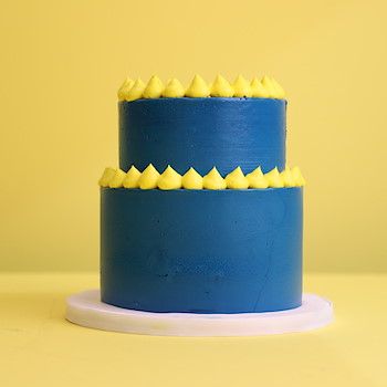 Blue Two Tier