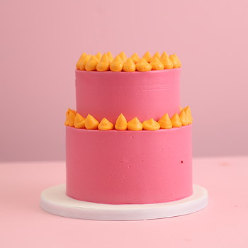 Pink Two Tier