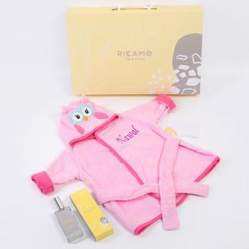 Baby Girl Bath Robe 2