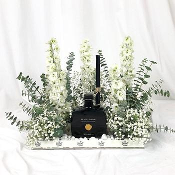 White Bloom Tray