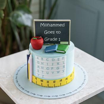 Back To School Cake I
