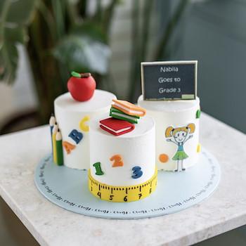 Back To School Trio Cake