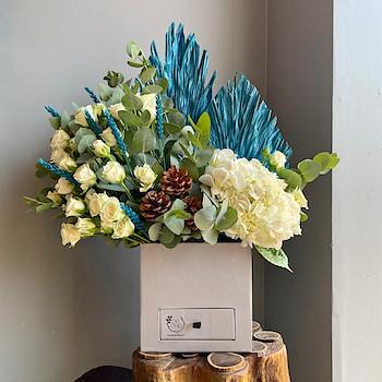 Rivan Blue Bouquet