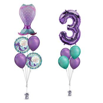Mermaid Tail Balloon 3