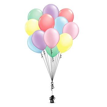 Balloon Bunch Pastel
