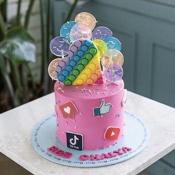 Heart Fidget Cake