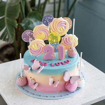 Butterfly Swirl Cake