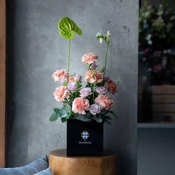 Carnation Flower Box II