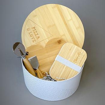 Bamboo Kitchen Basket