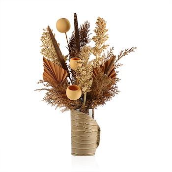 Emma Leather Vase