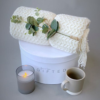 Homey Basket Off-White