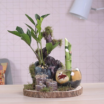 Green Forest Bouquet